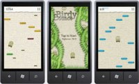 Birdy Bounce, el Doodle Jump de Windows Phone 7