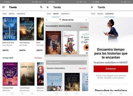 El catálogo de libros y audiolibros de Kobo