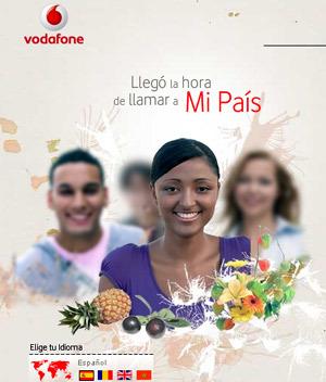 Vodafone regala 20 minutos en llamadas a los nuevos clientes de Mipais