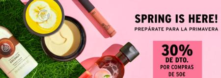 The Body Shop da la bienvenida a la primavera con un 30% de descuento