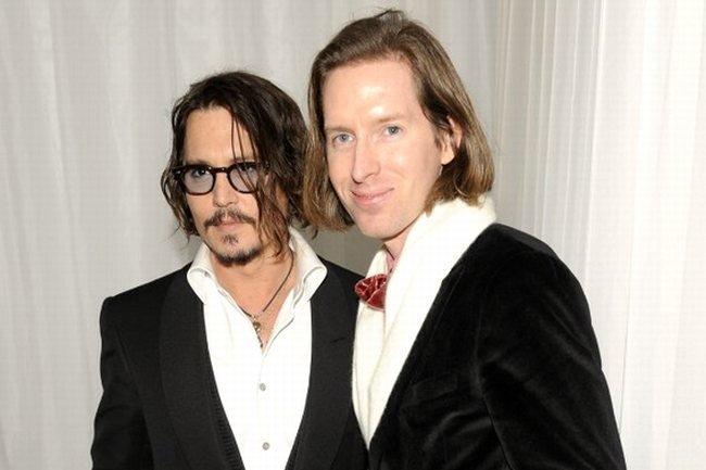 Johnny Depp y Wes Anderson