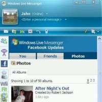 Facebook en MSN Messenger