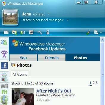 Microsoft Facebook Messenger