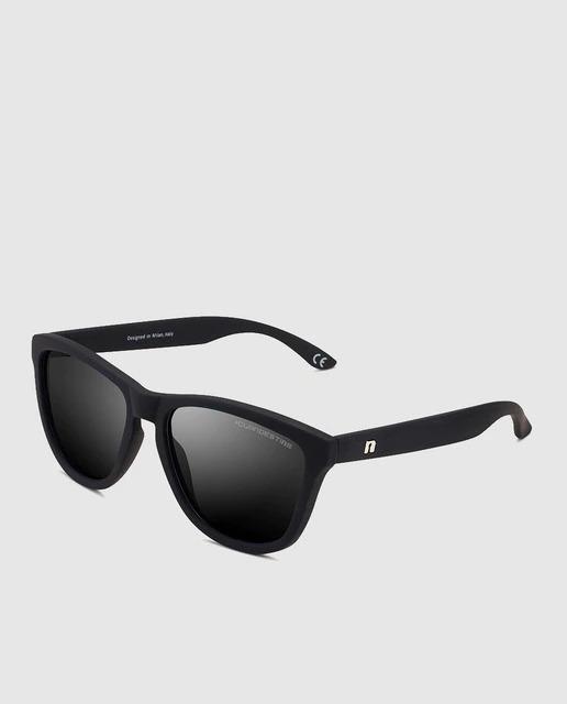 Gafas de sol unisex Clandestine cuadradas de color negro