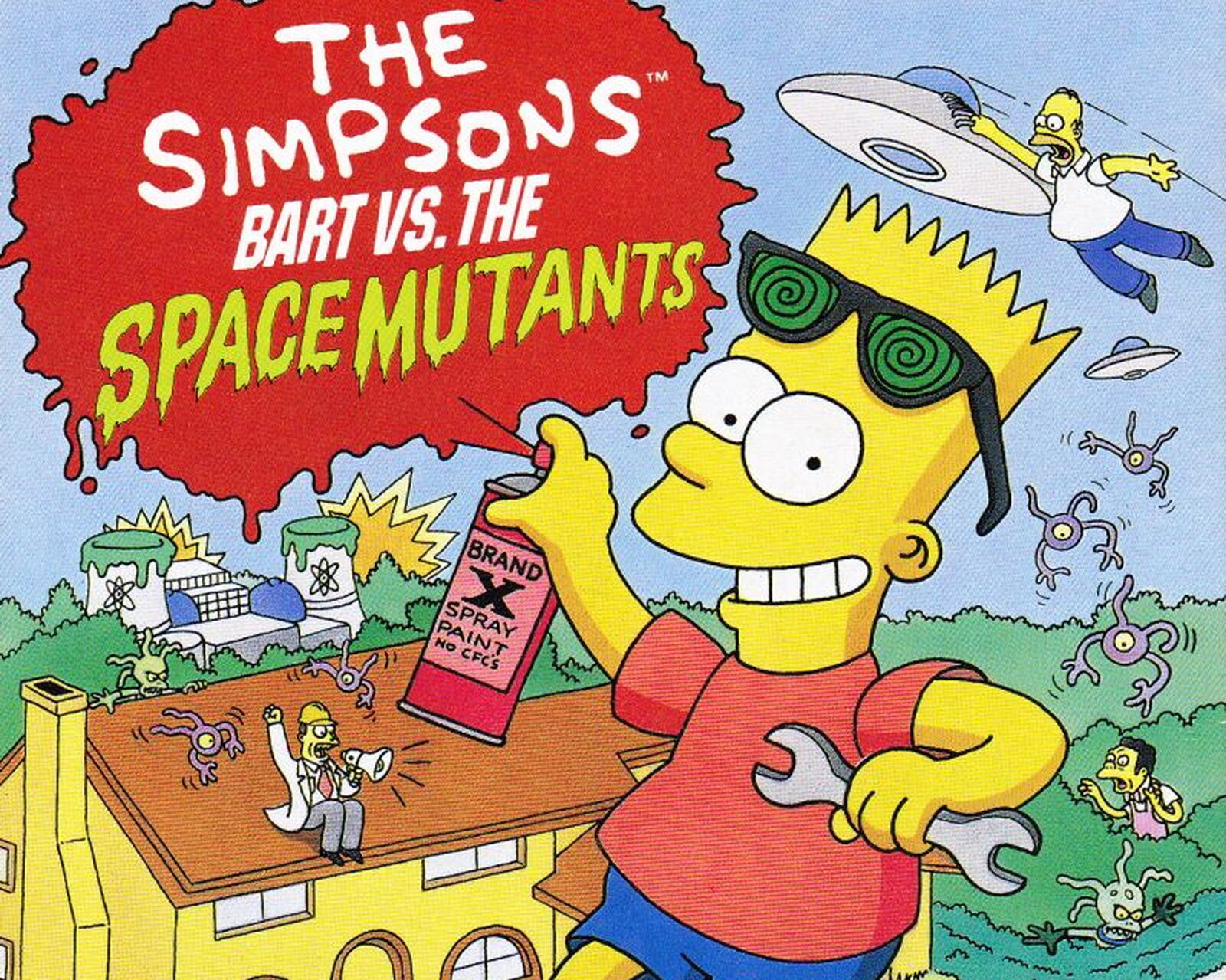 Bart vs Mutants