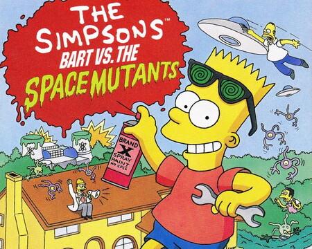 Retroanálisis de The Simpsons: Bart vs. the Space Mutants, los aliens contra el graffitti