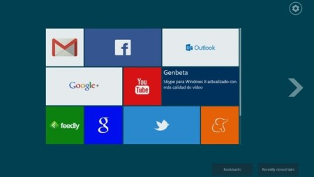 Dale a Chrome mosaicos a lo Windows 8 con Modern New Tab Page