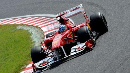 GP de Japón F1 2011: Fernando Alonso obtiene una quinta posición muy luchada