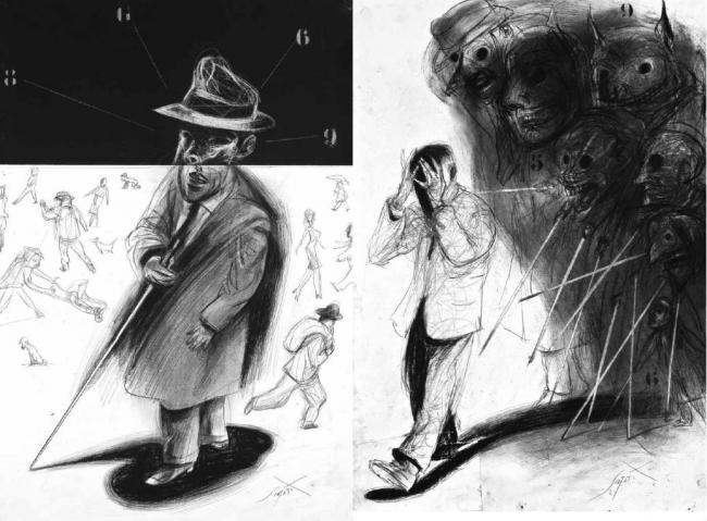 Luis Scafati Sabato Informe sobre ciegos Zorro Rojo