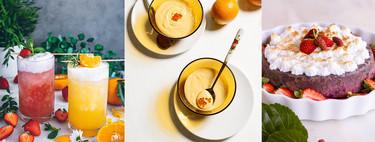 Preparando el verano: recetas cargadas de mucha fruta en el paseo por la gastronomía de la red