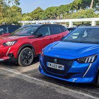 Probamos los Peugeot e-208 y e-2008: los nuevos utilitarios y SUV urbano 100% eléctricos que la marca francesa quiere convertir en superventas
