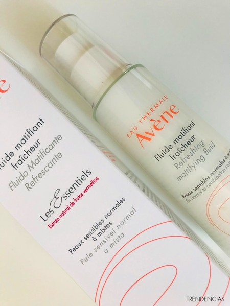 fluido matificante refrescante avene review