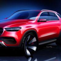 Mercedes alista la llegada de un nuevo GLE con este teaser