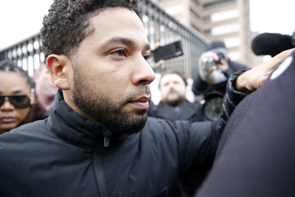 Jussie Smollett disappears from