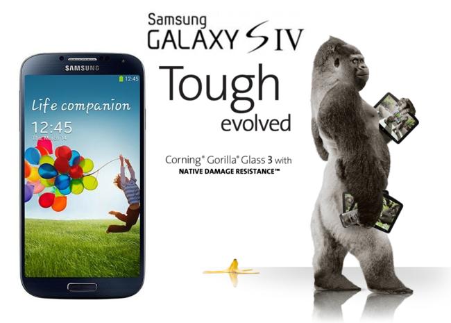 Samsung Galaxy™ S4 Gorilla Glass 3