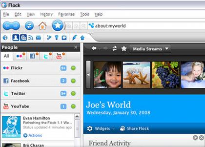 Análisis de Flock 1.1, la nueva versión del navegador más social