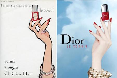 Los esmaltes de uñas Dior: así que pasen cincuenta años de lujosa y colorida trayectoria
