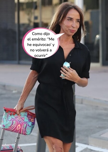 María Patiño se queda en bragas: el verdadero motivo por el que no acudió a 'Socialité'
