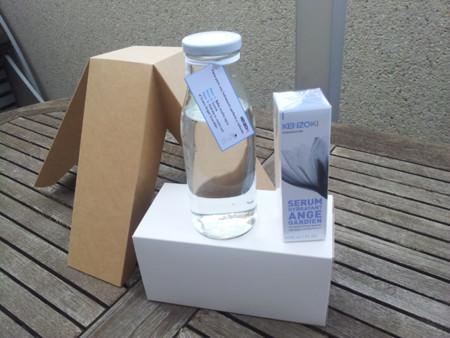 Kenzoki nos sorprende con un serum en formato gel que parece un sorbete glacial
