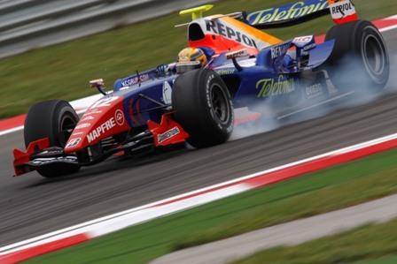 Giorgio Pantano y sus opciones en Toro Rosso