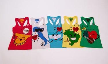 Anima a tu selección con las camisetas del Mundial de Fútbol de Bershka