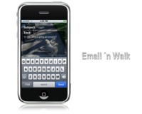 Email´n Walk, escribe mails desde tu iPhone sin riesgos a tropezar