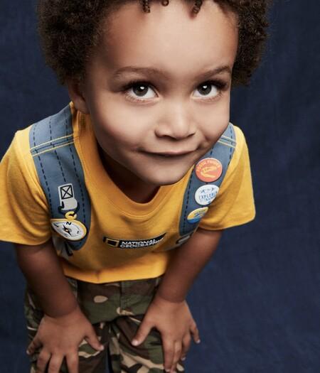 Gap y National Geographic presentan una colección de ropa ecológica para pequeños exploradores