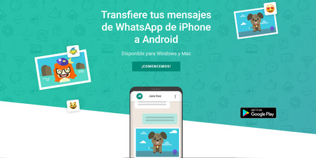 Cómo pasar mensajes de WhatsApp de iPhone a Android