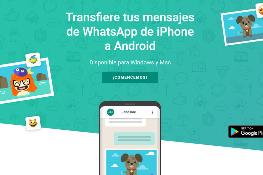 Recuperar chats de whatsapp iphone a android