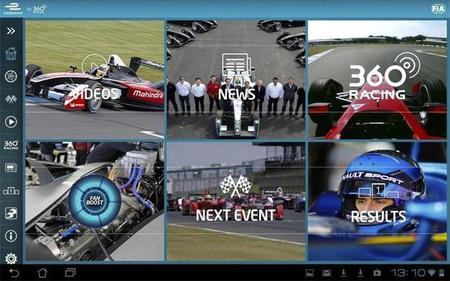 Disfruta al máximo del campeonato Formula E con la aplicación oficial