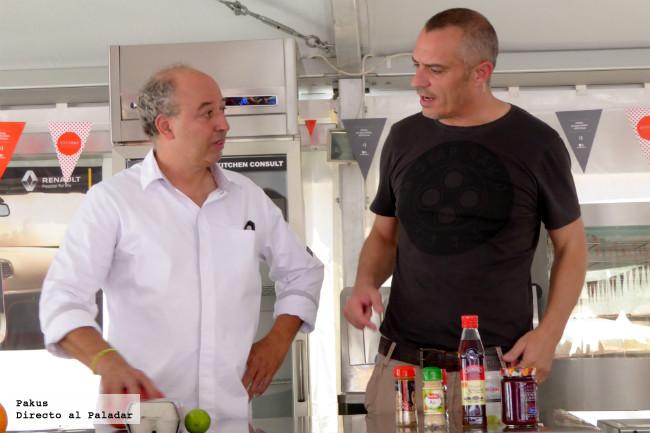 Juan Pozuelo Y Flavio En Madreat