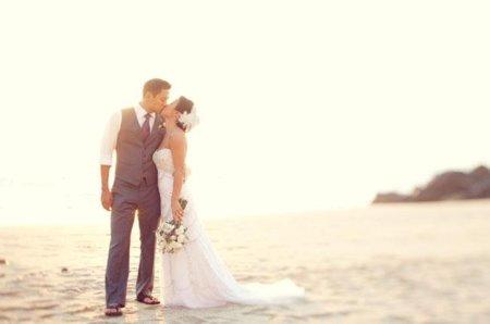 Vestidos de ninas para bodas en la playa