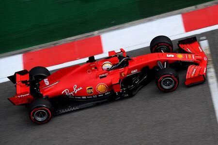 Vettel Rusia F1 2020