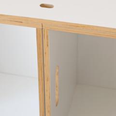 Foto 3 de 7 de la galería feria-habitat-2010-brickbox-una-ingeniosa-estanteria-modular en Decoesfera