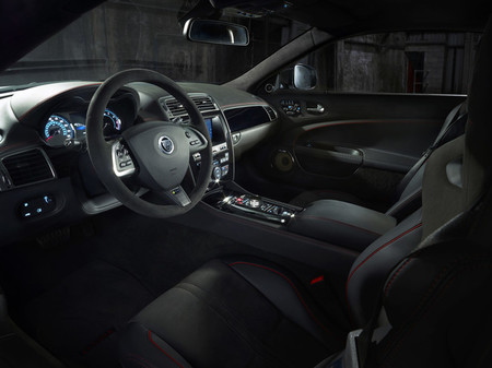 Jaguar XKR-S GT 2013, vista interior