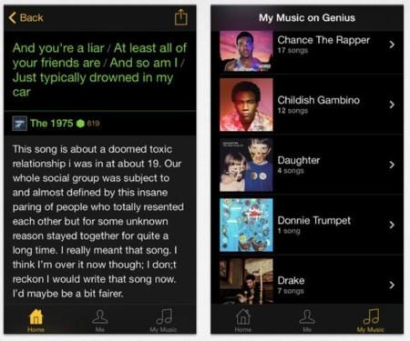 Rap Genius, una aplicación para entender el significado de las letras de tus canciones favoritas