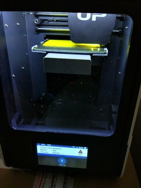 La impresora en funcionamiento