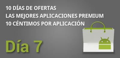 Séptimo día de ofertas en el Market con aplicaciones a 0.10€