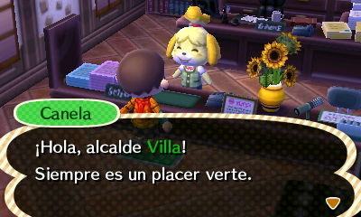 Animal Crossing New Leaf alcalde