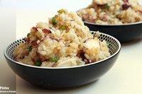 Receta de arroz frito con pulpo