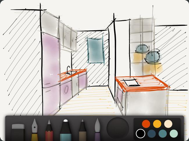 Aplicaciones de dibujo en iOS