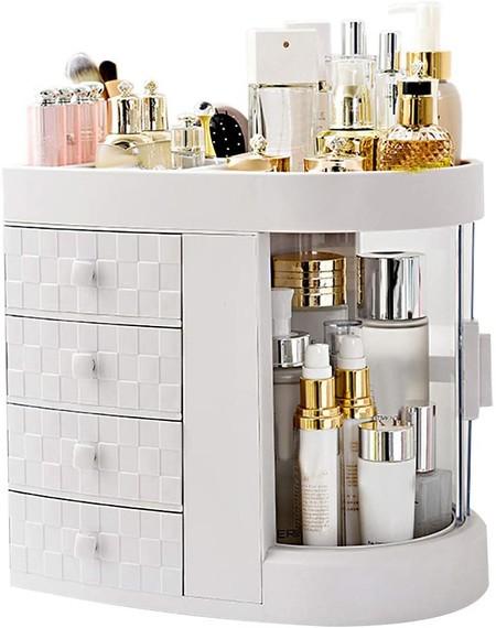 Organizador de maquillaje y perfumes