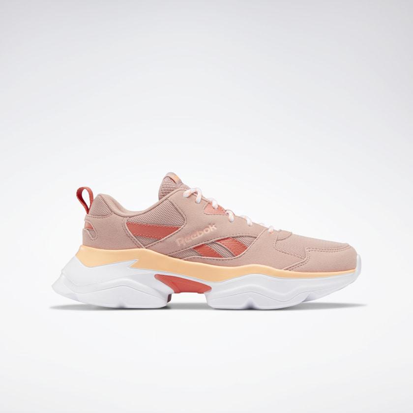 Sneakers combinadas en rosa