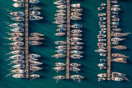 Boats On Marina By Nikybwd Russia
