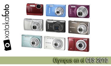 Olympus renueva su gama de compactas en el CES 2010