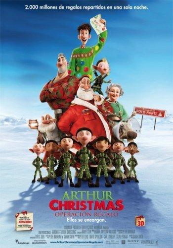 'Arthur Christmas: Operación regalo', cartel y tráiler del nuevo trabajo de los estudios Aardman y Sony