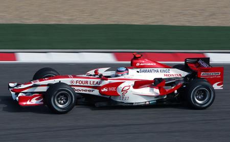 Takuma Sato 2007 Super Aguri F1