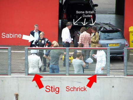 Tim Shrick no es The Stig
