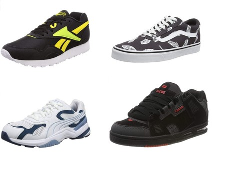 Chollos en tallas sueltas de zapatillas Reebook, Vans o Puma por 30 euros o menos en Amazon