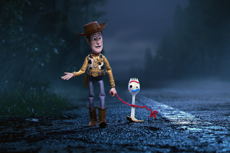 Toystory4 Woody Forky